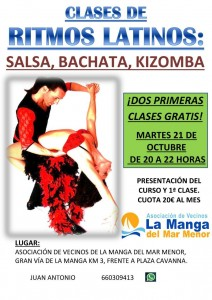 cartel baile