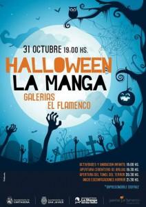 cartel halloween flamenco 2015