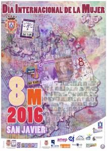Dia de la mujer 2016 Cartel