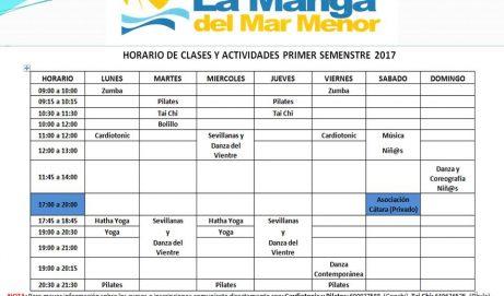 HORARIO DE CLASES 2017